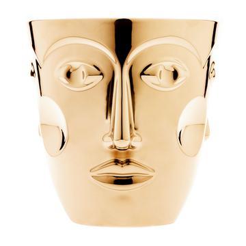 """Champagnerkühler """"Faces"""", Gold"""
