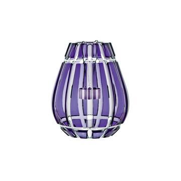 """Windlicht """"En Cage"""", 1 Teelicht, violett"""