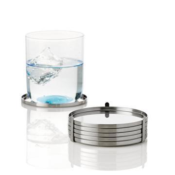 """Glasuntersetzer """"Arne Jacobsen"""", 6er-Set"""
