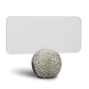 """Tischkartenhalter """"Pave Sphere"""", 6er-Set, platin"""