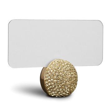"""Tischkartenhalter """"Pave Sphere"""", 6er-Set, gold"""