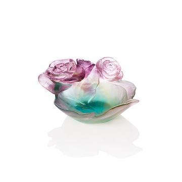 """Schälchen """"Rose Passion"""", grün-rosa"""