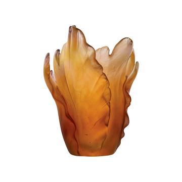 "Vase ""Tulipe"", bernstein"