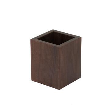 """Becher """"Wood"""", Thermoesche dunkel"""