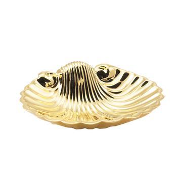 """Seifenschale """"Muschel"""", gold"""