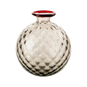 """Vase """"Monofiori Balloton"""", klein, grau"""