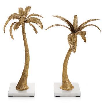 """Große Kerzenleuchter """"Palm"""", 2er-Set"""