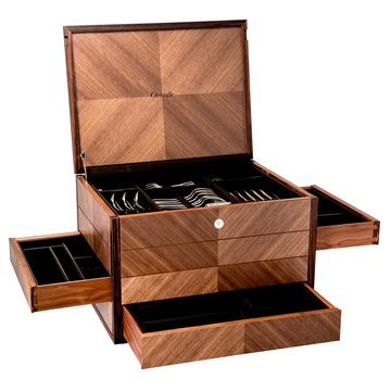"""Prestige"" cutlery chest for 165 pieces"
