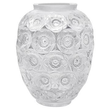 """Große Vase """"Anemones"""", klar"""