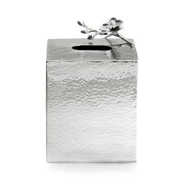"Kleenex-Box ""White Orchid"""