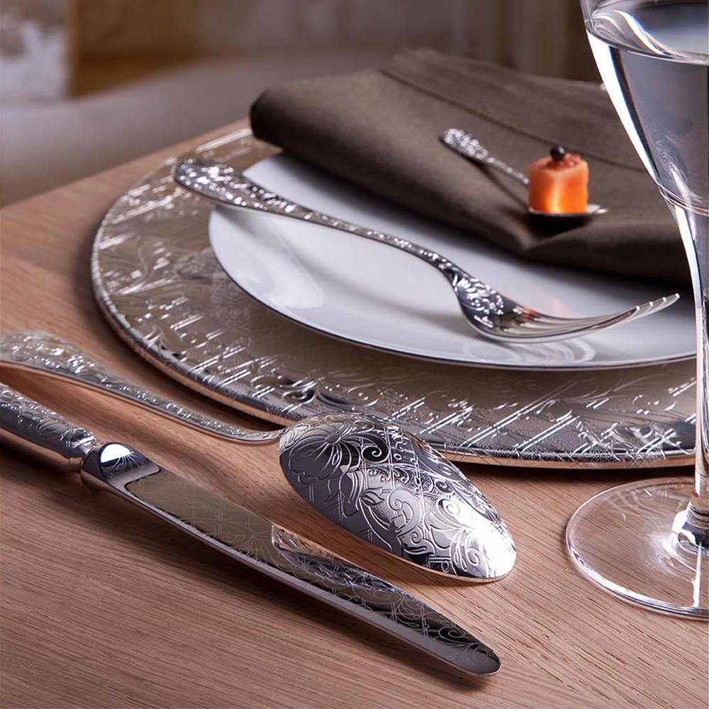 Christofle jardin d 39 eden cutlery silverplated for Jardin d eden