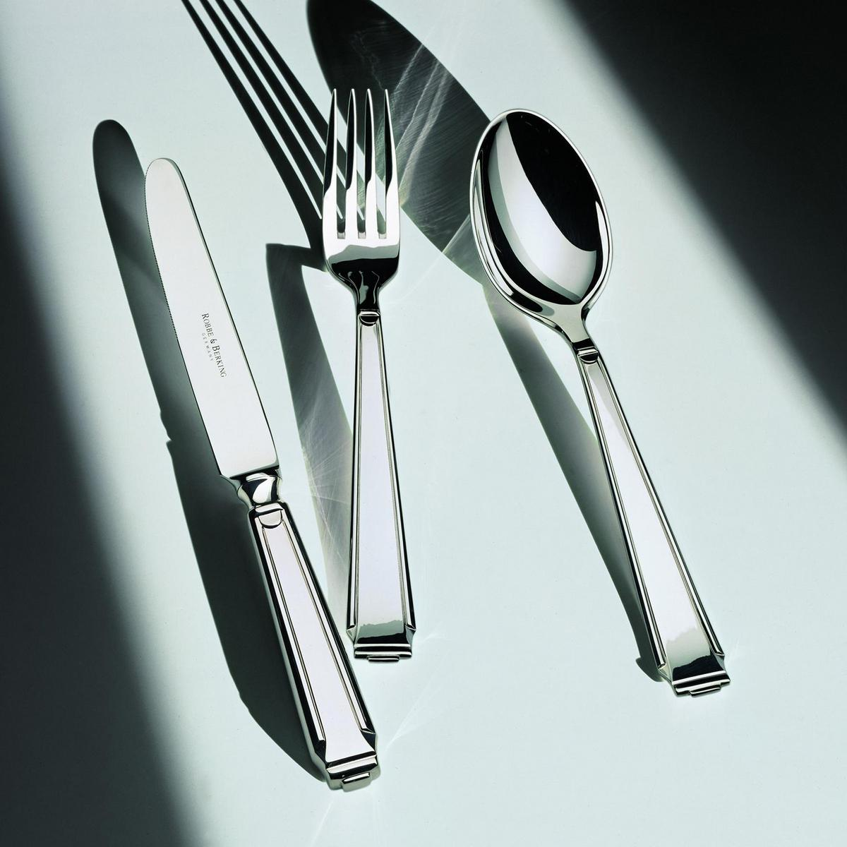 robbe berking art deco cutlery sterling silver. Black Bedroom Furniture Sets. Home Design Ideas