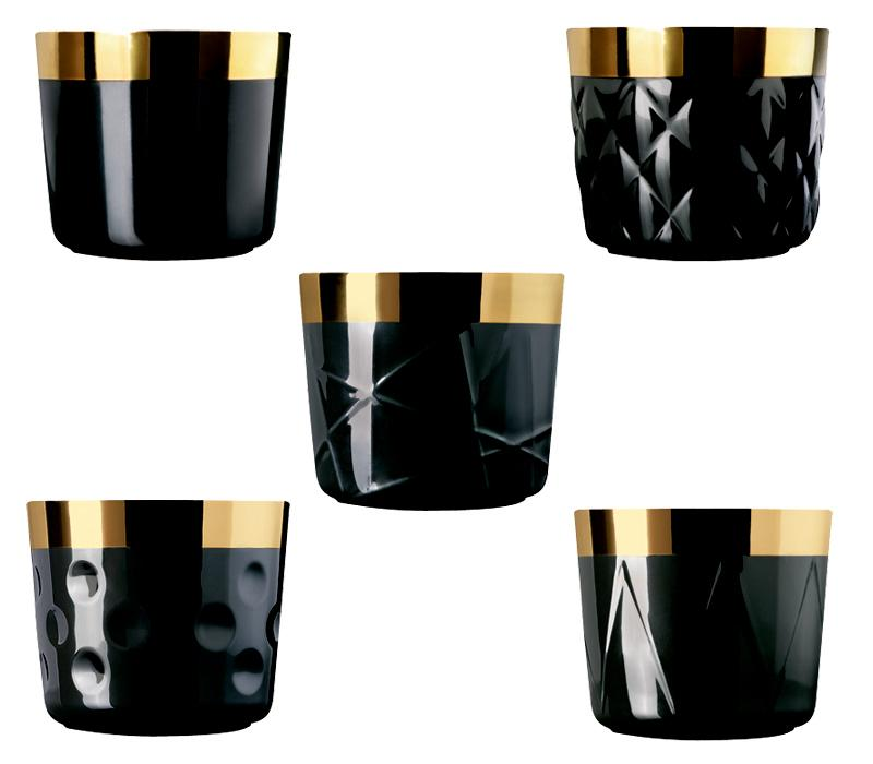 sieger by f rstenberg champagnerbecher sip of gold noir. Black Bedroom Furniture Sets. Home Design Ideas