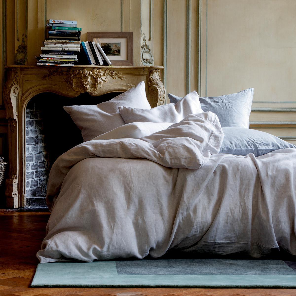 christian fischbacher bettw sche purolino blau. Black Bedroom Furniture Sets. Home Design Ideas