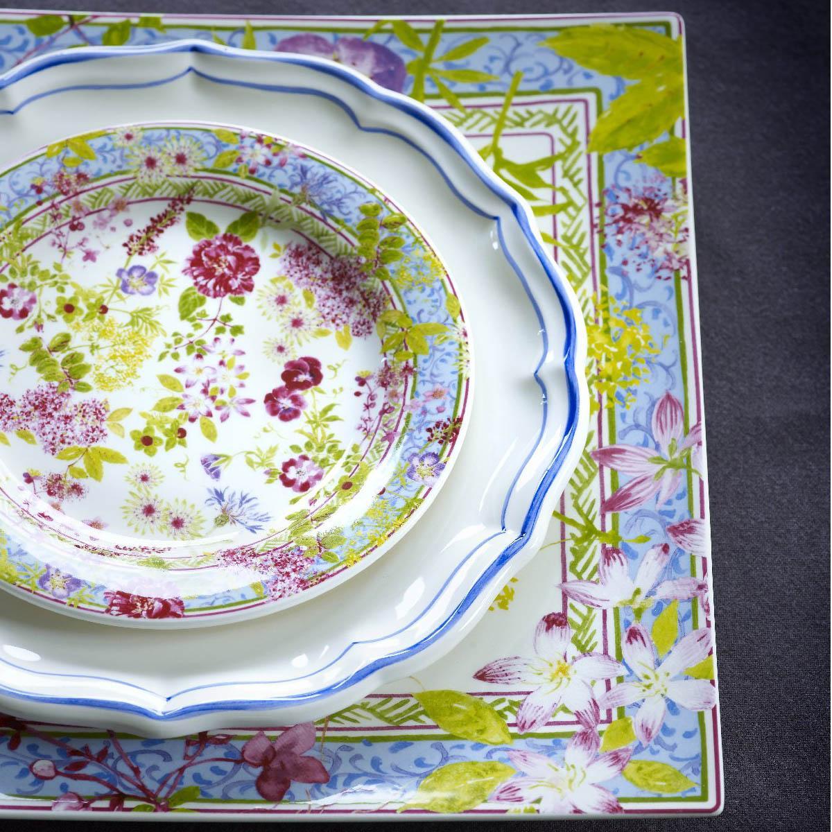 About this product range  sc 1 st  Artedona & Gien Millefleurs Dinnerware | Artedona.com