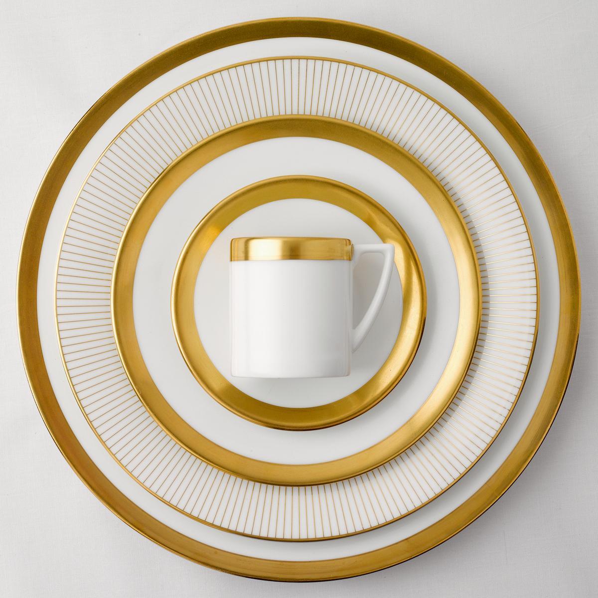 About this product range & Wedgwood Jasper Conran Gold Dinnerware | Artedona.com