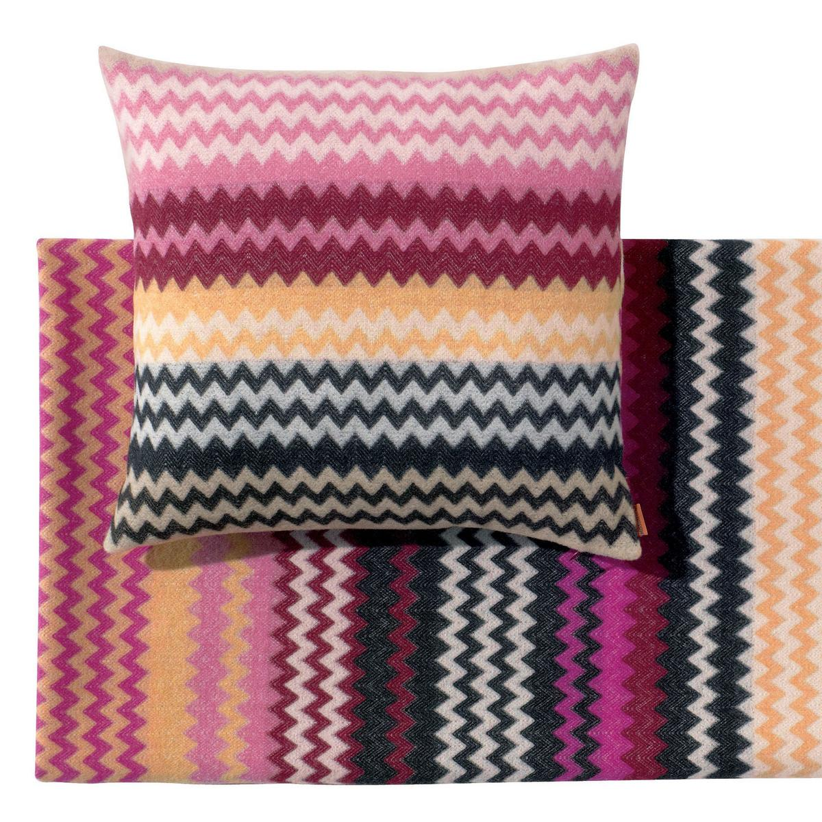 plaids kissen humbert von missoni home. Black Bedroom Furniture Sets. Home Design Ideas