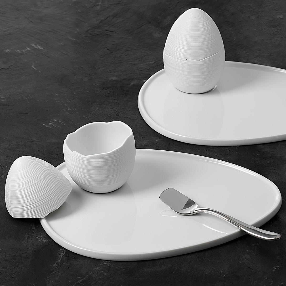 J.L Coquet Hémisphère White Dinnerware | Artedona.com