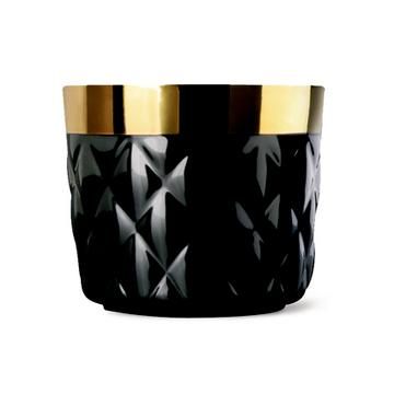"""Sip of Gold Noir"" goblets"