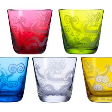 """Ignis no. 90"" dragon tumblers, size M"