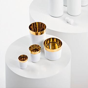 """Desire"" porcelain tumblers"